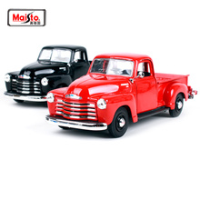 Maisto 1:25 1950 Chevrolet 3100 PICKUP Vintage cars Diecast Model Car Toy New In Box Free Shipping NEW ARRIVAL 31952 maisto 1 18 1950 ford old car model diecast model car toy new in box free shipping 31681