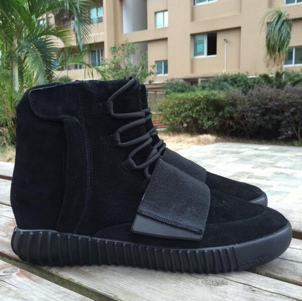 hot sale online 37772 dd7ad Yeezy 750 Boost Kanye West 750 All Black Gray yeezy boost ...