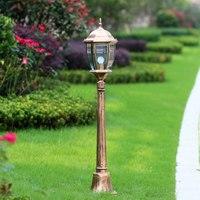 Europa dekoracja zewnętrzna lampa trawnikowa 115cm tall kolumny ogród światło drogowe na podwórku oświetlenie krajobrazu WCS OLL0020 w Zewnętrzne oświetlenie od Lampy i oświetlenie na