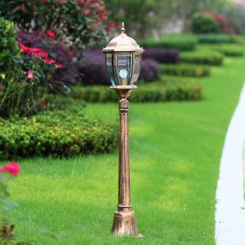 Europe outdoor decoration lawn lamp 115cm tall-column garden road light backyard landscape lighting WCS-OLL0020 luminous decoration wedding party column lamp colorful colonne lumineuse of tower landscape lighting