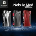 Original Vaporesso Nebulosa trabajando con 18650/26650 batería Vape Mod Cigarrillo Electrónico Mod