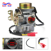 Motorcycle CVK30 30MM Carburetor Parts Vacuum Model Universal For Scooters GY6 150 VOG TANK 260CC 200CC 250CC Engines.