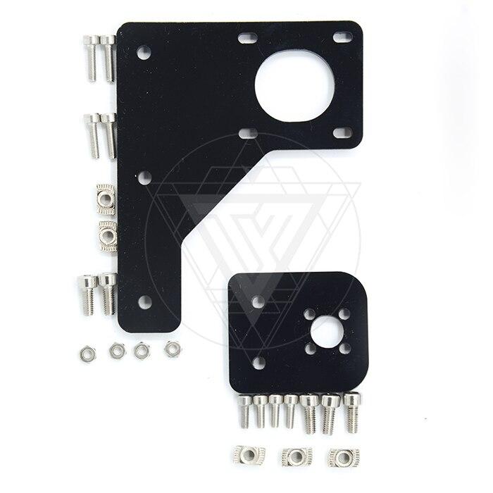 TEVO Dual Z-as Upgrade Kit Nema 42 stap motor & T8 * 2 lood schroef 375mm met messing moer voor Tarantula 3D printer deel