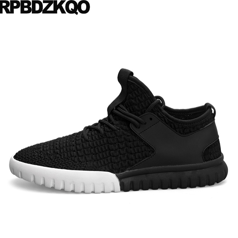Casual Breathable Shoes 2017 Black New Men Flats Footwear Walking Trainers Comfort Spring Popular Hot Sale Stylish Autumn