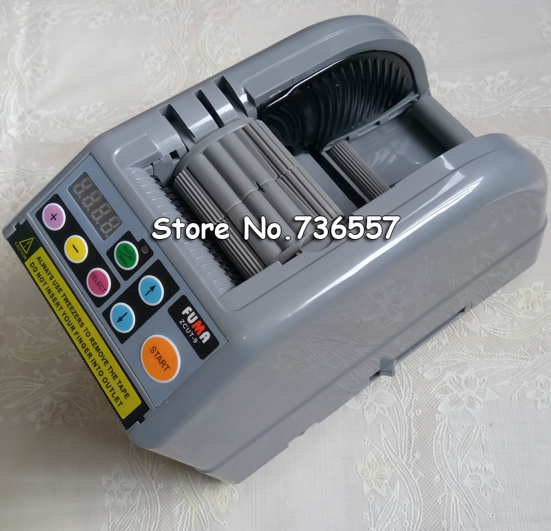 2017 NEW ZCUT-9 automatic tape dispenser, ZCUT9 tape cutter for max. tape width 60mm, max. tape roller dia.300mm, hotsales electric rt3000 tape dispenser carousel automatic tape cutter rt 3000 for 3 25mm width 9 61mm longth precise knob set function