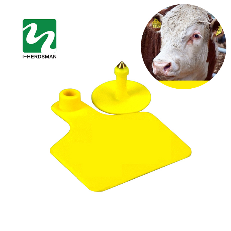 50PC Milch Cow Cattle Ear Tag Signs Without Word Ear Laser