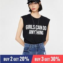 Toyouth Harajuku Summer T Shirt Women Short Sleeve Letter Printed Fashion T-shirt Woman Tee Tops Casual Female T-shirts