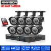 1080N 8CH CCTV System 8CH HDMI Full HD 1080P 720P DVR 8PCS HD 1 3MP IR