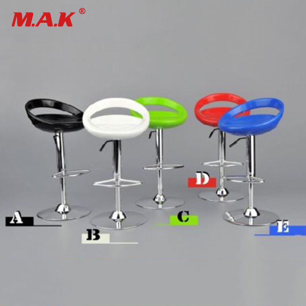 5 Colors ZYTOYS 1/6 Scale Round Bar Swivel Chair Model Toy ZY3004 F 12'' Figure PH Dolls