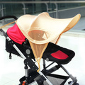 Cochecitos cochecito parasol parasol UV sombrilla paraguas protector solar resistente al agua apagón botella Universal