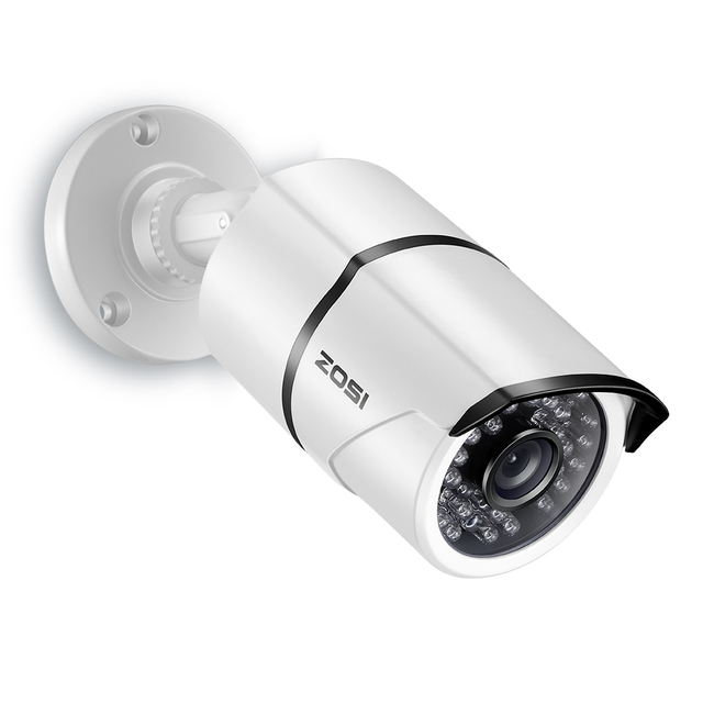 ZOSI 2,0 mp 1080P Volle HD Überwachungs Kameras Starke Infrarot 1080P HD TVI Sicherheit Kamera CCTV Kamera Video Kameras