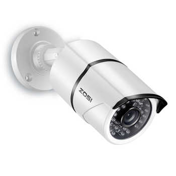 ZOSI 2.0mp 1080P Full HD Surveillance Cameras Strong Infrared 1080P HD-TVI Security Camera CCTV Camera Video Cameras - Category 🛒 All Category