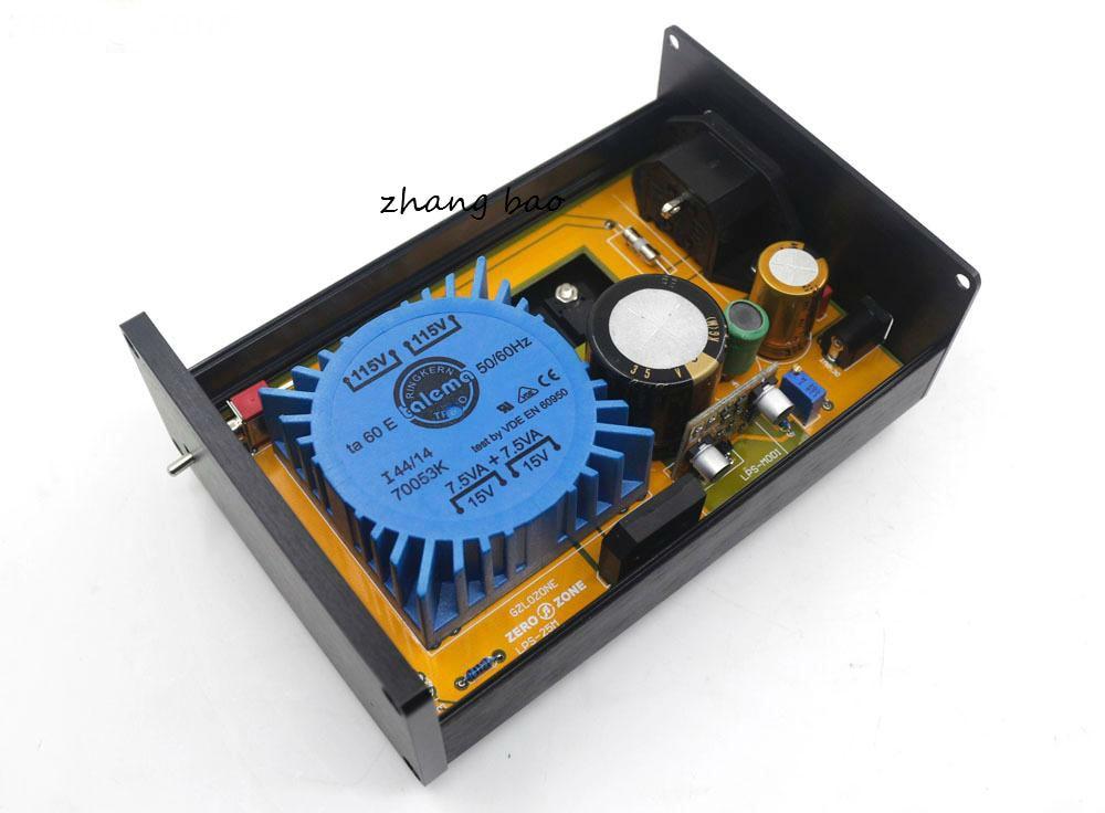 15W high version full discrete HiFi ultra low noise linear power supply 12V LPS (customizable voltage) dc5v 9v 12v 15v 18v 19v 24v ac220v 110v 15w lps linear power supply