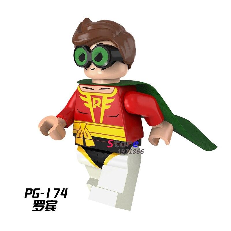 Single star wars строительные блоки стражи galaxy робин бэтмен действие устанавливает модель кирпичи игрушки хобби для детей