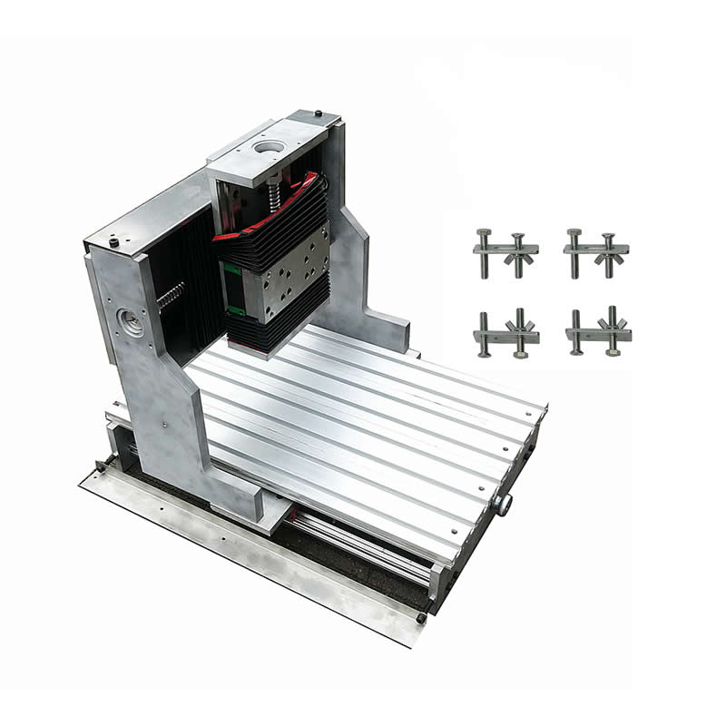 CNC 3040 frame linear guideway Square line rail track 80mm spindle aluminum table metal CNC 3040 frame linear guideway Square line rail track 80mm spindle aluminum table metal