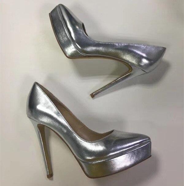 High quality genuine leather high heeled pumps shoes Fashion womens platform high heels Chic party shoes  EU35-41 BY656High quality genuine leather high heeled pumps shoes Fashion womens platform high heels Chic party shoes  EU35-41 BY656