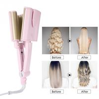 Professional Three Barrels Hair Curler Ceramic Waver Hairstyle Tools