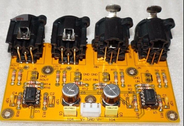 Free Ship For Balanced Preamp/Unbalanced Turn Balanced/for Balance Turn Unbalanced/RCA Turn XLR Board/Kit For Hifi Amplifier