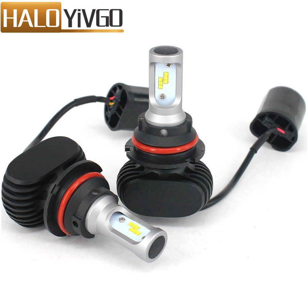 9004 9007 HB1 HB5 LED Car Headlight Bulb Hi/Lo Beam 8000Lm 6500K 12V 50W Car LED Headlights Bulbs Auto Fog Light Head Lamp car h4 led headlights hi lo 50w 5600lm auto lamp led light bulb 12v light source flip chip 6000k white 3000k yellow