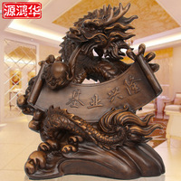 Source Honghua Ji Industry Is Booming Dragon Ornaments Resin Crafts Creative Opening Gifts Ornaments Office Furnishings