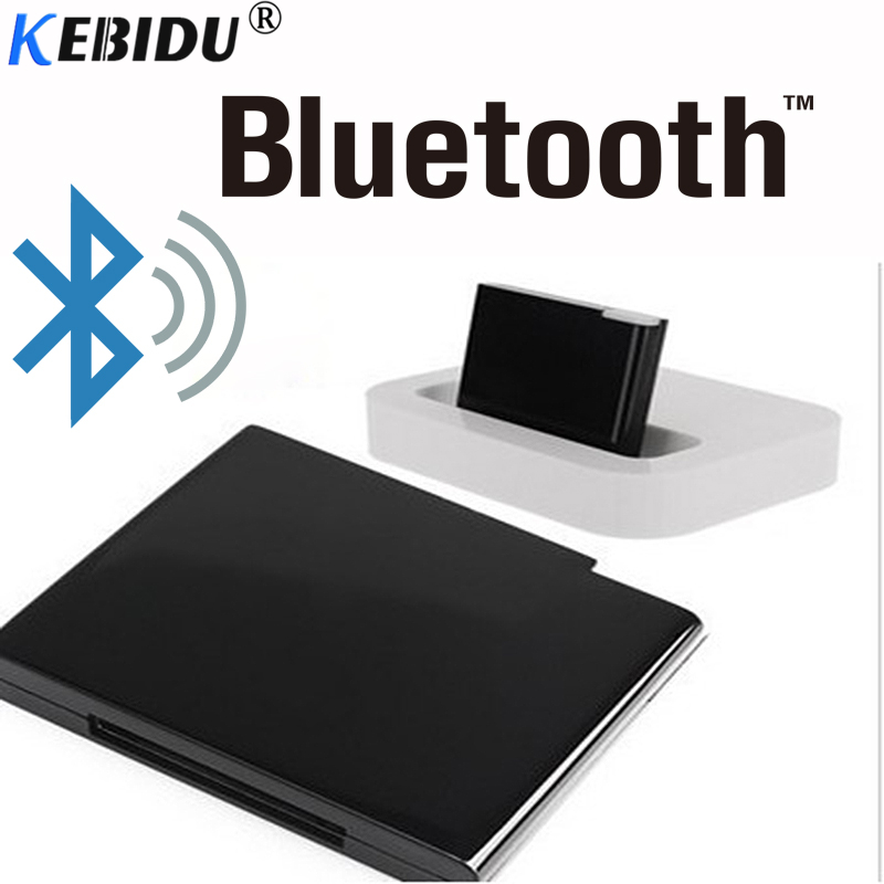 Tragbares Audio & Video Kebidu Drahtlose Bluetooth V2.0 A2dp Empfänger Adapter Für Ipod Für Iphone 30 Pin Dock Docking Station Lautsprecher Musik Mit Led üBerlegene Materialien