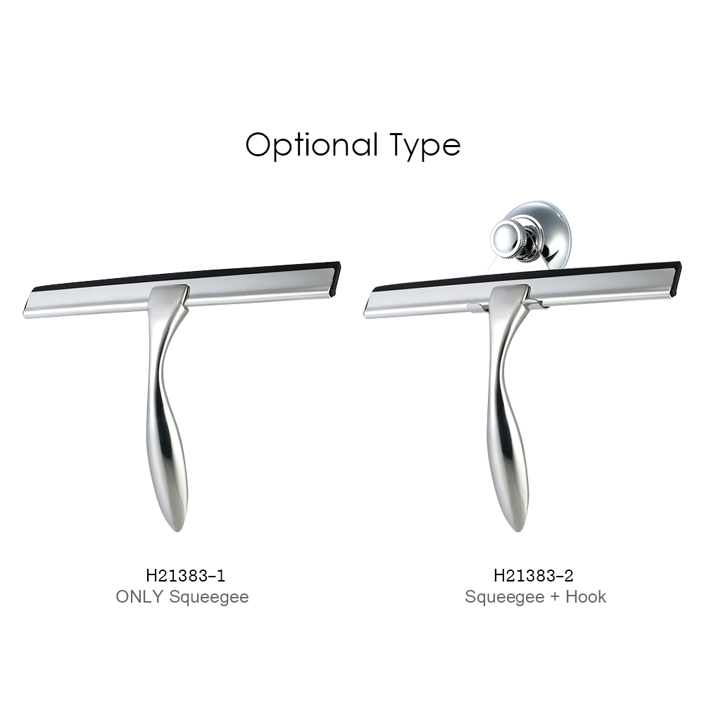 OSORD Bathroom Shower Squeegee for Window Glass Mirror Cleaning ...