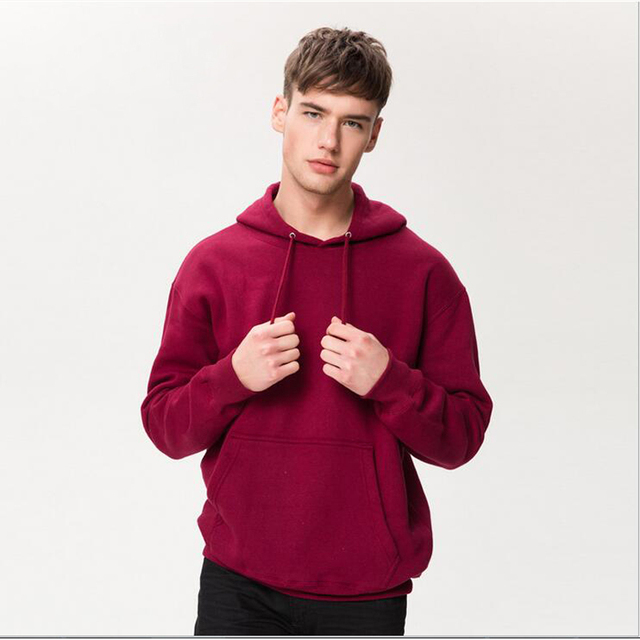men hoodies 100% cotton autumn winter hooded sweatshirts unisex  printed hoodies men streetwear