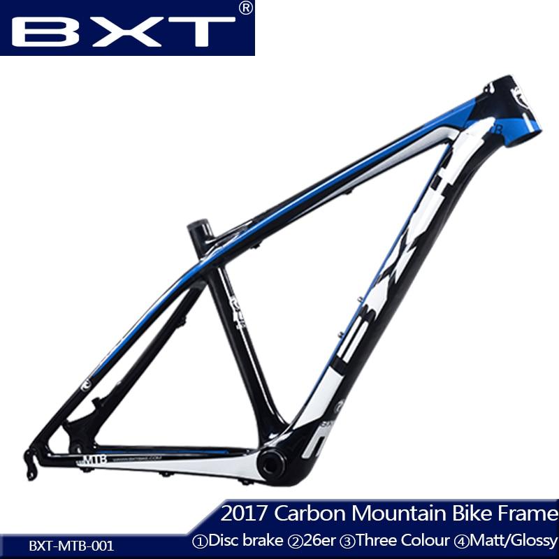 2017 BXT Chinese carbon frames 14/16 inch 26 carbon mountain bike frameset super light kids carbon mtb frame 26er bicycle frame giant 26 mountain bike mtb frame atx pro