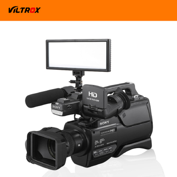 Viltrox L132T LED Video Light Ultra Thin LCD Bi-Color & Dimmable DSLR Studio LED Light Lamp Panel for Camera DV Camcorder