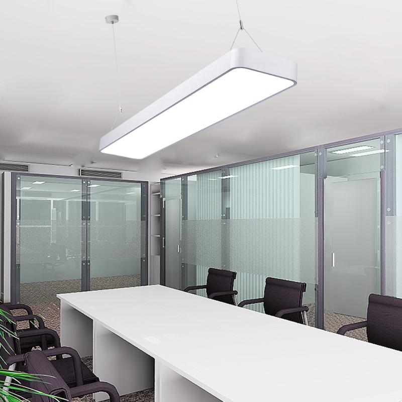 Modern pendant led lights for office internet library for Luminaire suspendu moderne