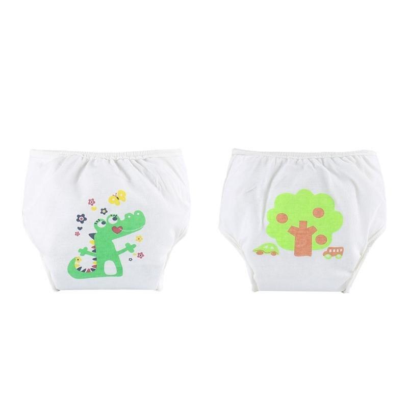 Cartoon Baby Diaper Underwear Infant Cotton Waterproof Reusable Nappy Diaper Training Pants Briefs Boy Girl Underwear Washable
