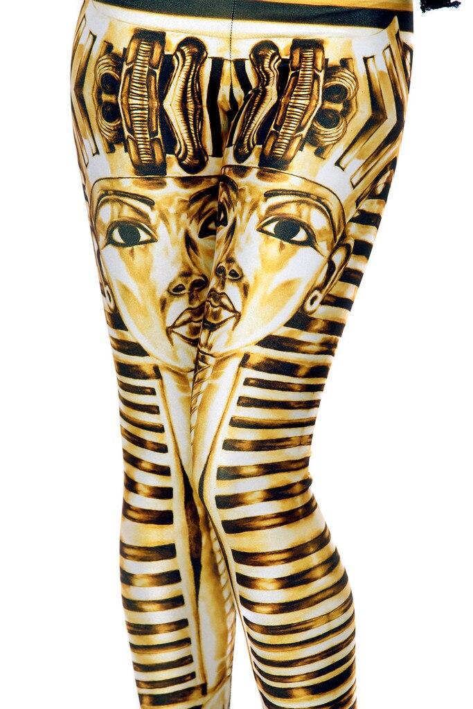 Femmes Slim Hanche Leggings Pantalon Sexy Egypte Pharaon Remise En Forme  Yoga Pantalon Haute Élastique Impression Numérique Fille Dame Respirant  Collants e00beb82775
