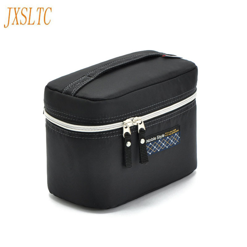 2017 Hot-selling Small Fashion Women Brand Cosmetic Bag Make Up Organizer Washing Bag Black Travel Makeup Cases Cosmetic Bags fashion cosmetic bags high quality patent leather make up bags ladies cosmetic cases organizer bags cute cosmetic bag