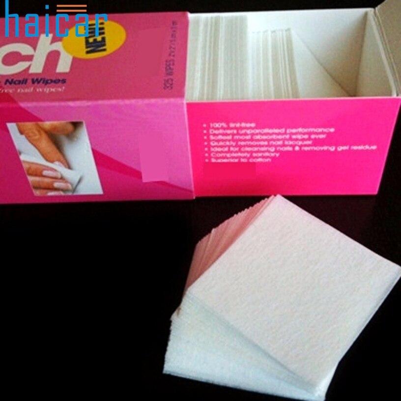 Melhor Negócio 325 unidades / pacote Nail Art Gel Polonês Removedor de Remoção de Papel Wraps Almofada de Algodão Prego Limpe para Nair Art Ferramentas