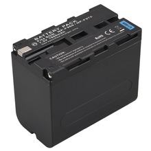 1Pcs Goldfox High Capacity 7800mah Digital Camera Batteries For Sony NP F960 F970 NP-F960 NP-F970 Batteria Battery np f970