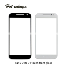 For Motorola Moto G4 XT1620 XT1621 G4 Play G4 PLUS Outer Glass Front Touch Screen Glass Panels Digitizer Sensor phone Parts цена 2017