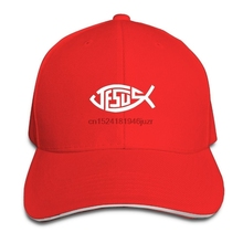 Jesus Christian Fish personalizado para mujer para hombre ajustable gorra  de béisbol sándwich deportes Snapback sombreros bf8149aa7c3