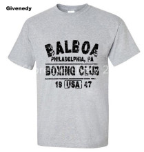 BALBOA CLUB ROCKY Movie Philly Retro Set Men's Custom Tee Shirt
