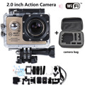 "New Hot Sale Action Camera WIFI 2.0"" LCD Full HD 1080P Waterproof 30M Sports DV NT96655 Mini Action Cam Add Extra Camera bag"