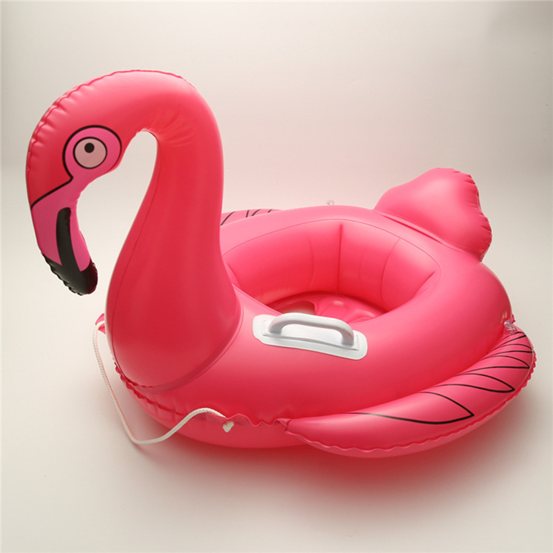 Flamingo Unicorn Inflation for Pools Water Fun Baby Kids Floats Pool Rafts Inflatable Ride-ons Children Water Toys