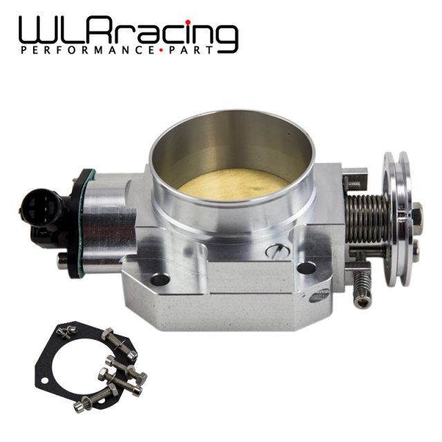 WLRING- 70MM THROTTLE BODY + TPS THROTTLE BODY POSITION SENSOR FOR HONDA B16 B18 D16 F22 B20 D/B/H/F EF EG EK DC2 H22 D15 D16  цены