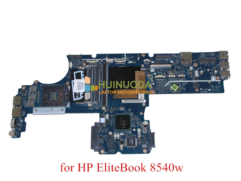 NOKOTION 595765-001 604538-001 KAQ00 LA-4951P Rev 1.0 for HP Elitebook 8540W 8540P Motherboard DDR3 QM57 with graphics slot 595765 001 free shipping for hp la 4951p intel laptop motherboard qm57 100