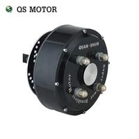 QS Motor 2000 W 205 45 H V2 Fırçasız DC Dişlisiz Elektrikli Otomobil Tekerlek Göbeği Motorlu
