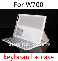 Official Wireless Bluetooth Keyboard Folio Stand Leather Case Cover for Acer Iconia Tab W700 W701 P3 11.6'
