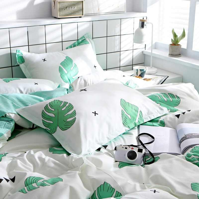 2019 New Product 2pcs 100%Polyester Super soft printed pillowcase household pillowcase