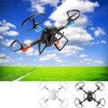4 CANALES 6-Axis 2.4 GHz 2.0MP Wifi FPV Transmisión En Tiempo Real Luz LED de la cámara RC Quadcopter Drone Giroscopio para Android iOS teléfonos celulares