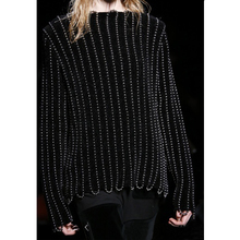 2016 Fashion Full Real Poncho Pullover Women Sweater Europe The Spring Of 2017 Stations In Of Chain Decoration Loose Wool Top