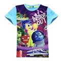 3-12Y Inside Out Dinosaur t-shirts for boys 2016 Summer Kids Boys Clothing Tops & Tees T Shirts bobo choses  catimini