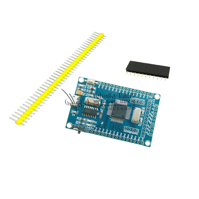 51 single-chip small system board STC89C52 STC51 STC89 core development board learning board atmega16a chip core avr scm development board learning board test board programmer with pins