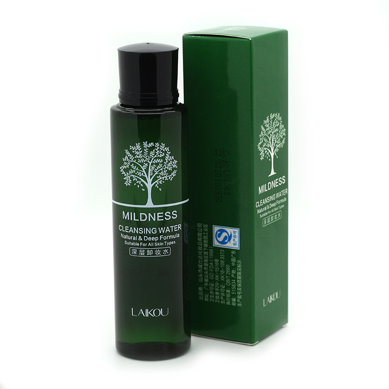 Korean Cosmetics Olive Cleansing Water Makeup Remover Shrink Pores Cleanser Quick Dissolve Deep ...
